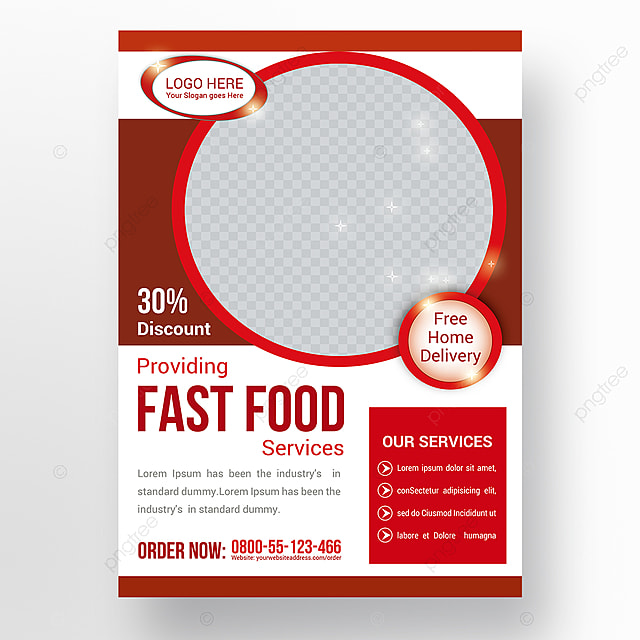 Food Flyer Template For Free Download On Pngtree