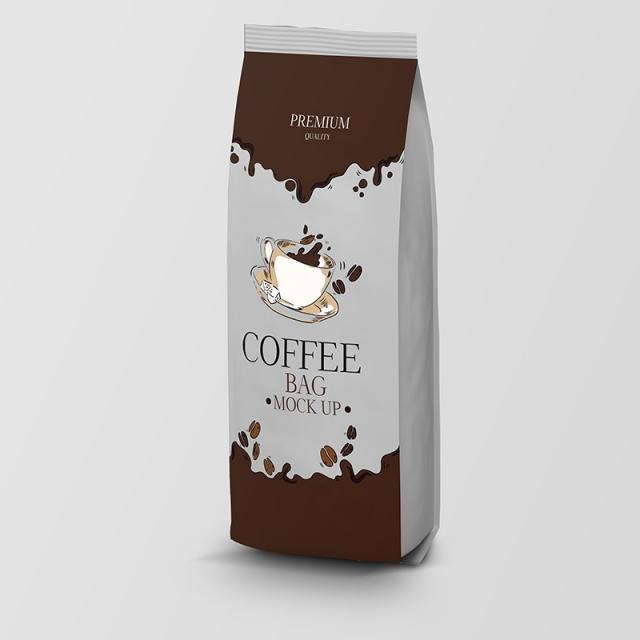 coffee bag packaging template for free download on pngtree