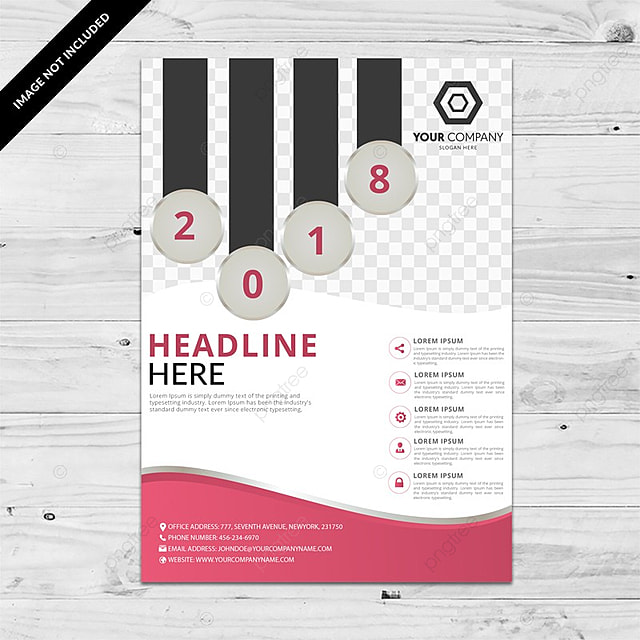 Multipurpose Pink Business Brochure Template Template For Free