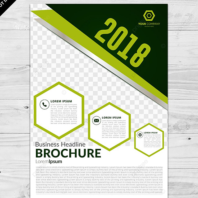 Green Geometric Brochure Template Template For Free Download On Pngtree