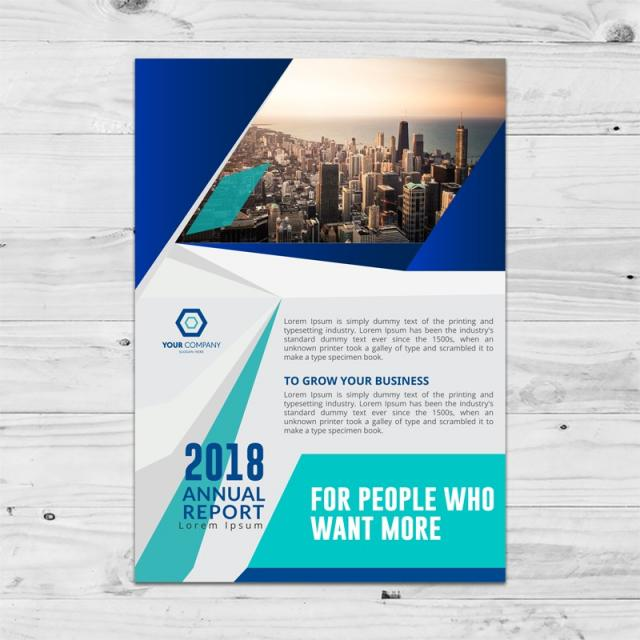 Annual Report Brochure Template Template For Free Download On Pngtree