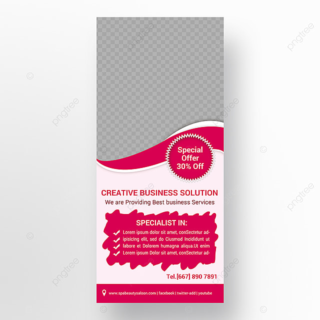 Empresa Rollup Banner Modelo Para Download Gratuito No Pngtree