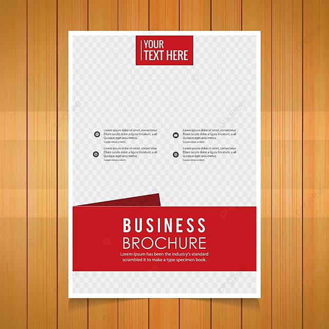 Business Brochure Red Template For Free Download On Pngtree