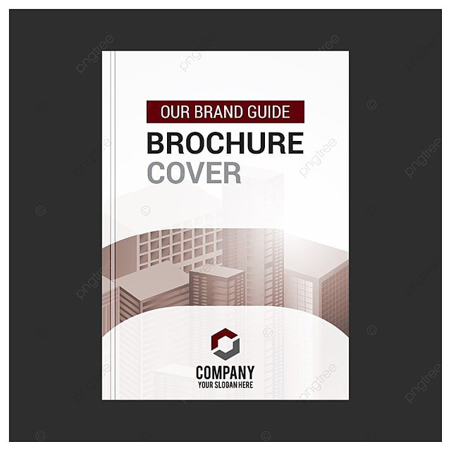 brochure cover template free download on pngtree, Presentation templates