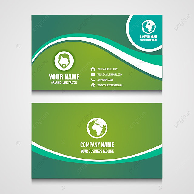 nice name card design for your business Template for Free Download ...