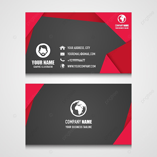 nice name card design for your business template for free