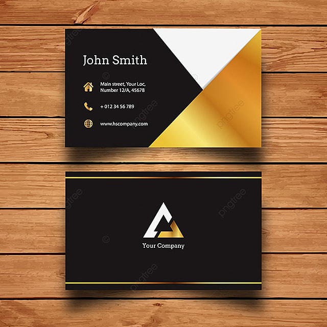 Elegant gold business card template for free download on pngtree elegant gold business card template accmission Images