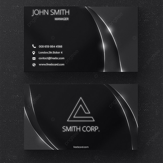Dark shiny business card template for free download on pngtree dark shiny business card template reheart Gallery
