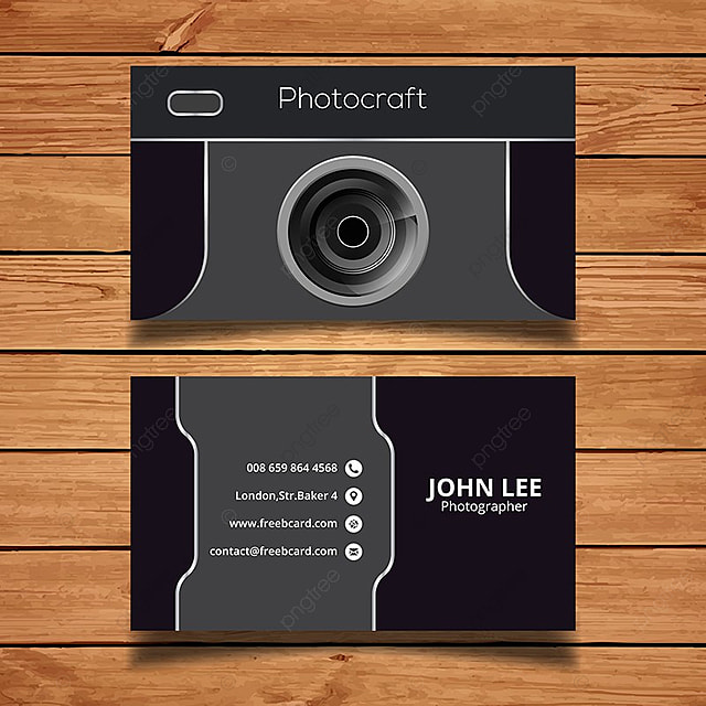 Photography business card template for free download on pngtree photography business card template reheart Choice Image