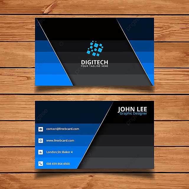 Digital company business card template for free download on pngtree digital company business card template cheaphphosting