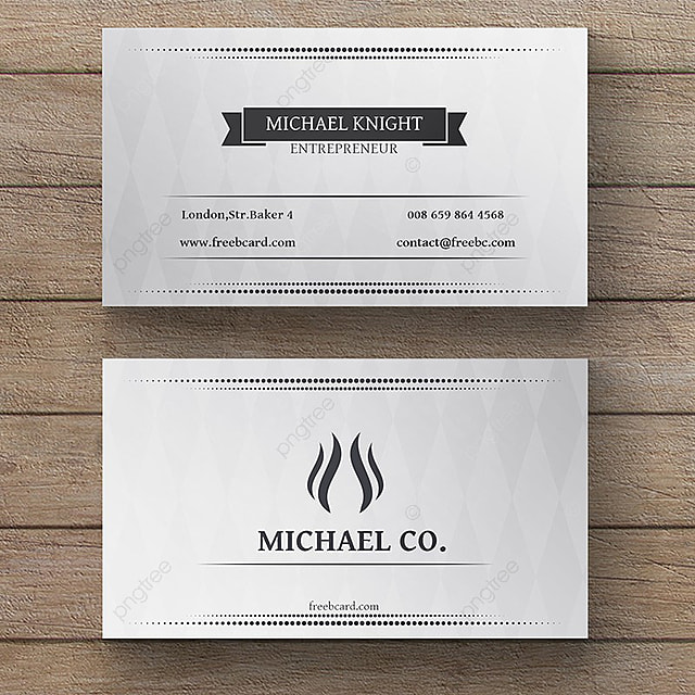 Simple white business card template for free download on pngtree simple white business card template colourmoves