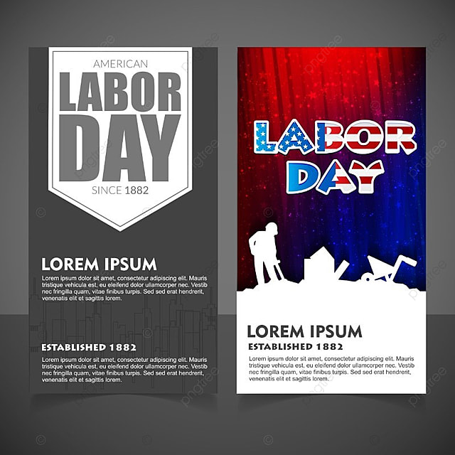 Labour day brochure vector Template for Free Download on Pngtree