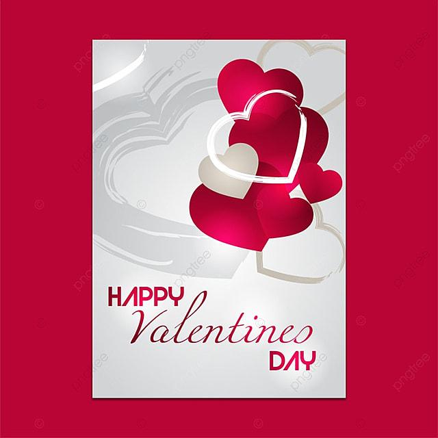 Valentines Day Single Brochure