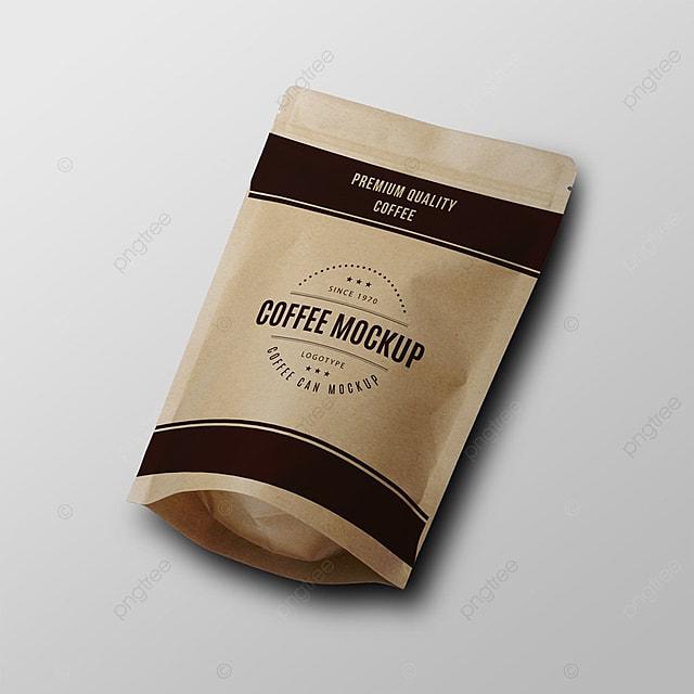 paper coffee bag psd mock up template for free download on pngtree