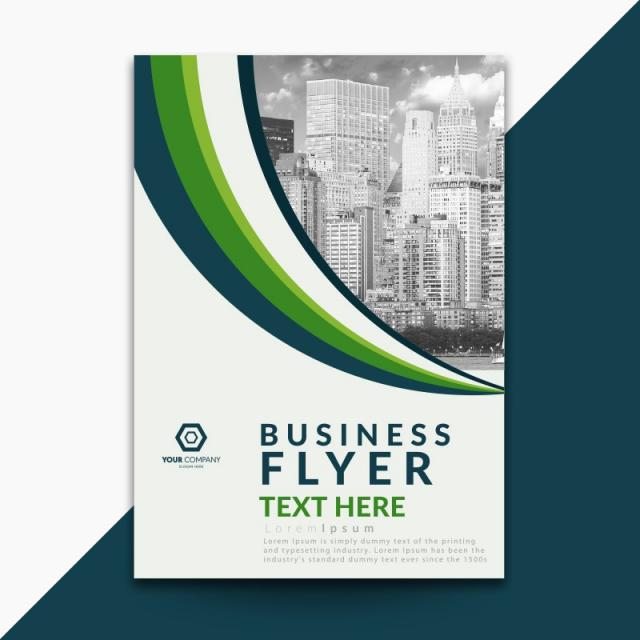 Green Corporate Flyer Template For Free Download On Pngtree