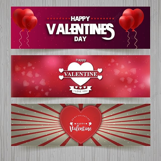 valentine banners template for free download on pngtree