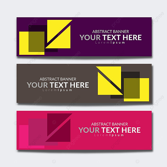 web banner with geometric shapes Template for Free Download on Pngtree