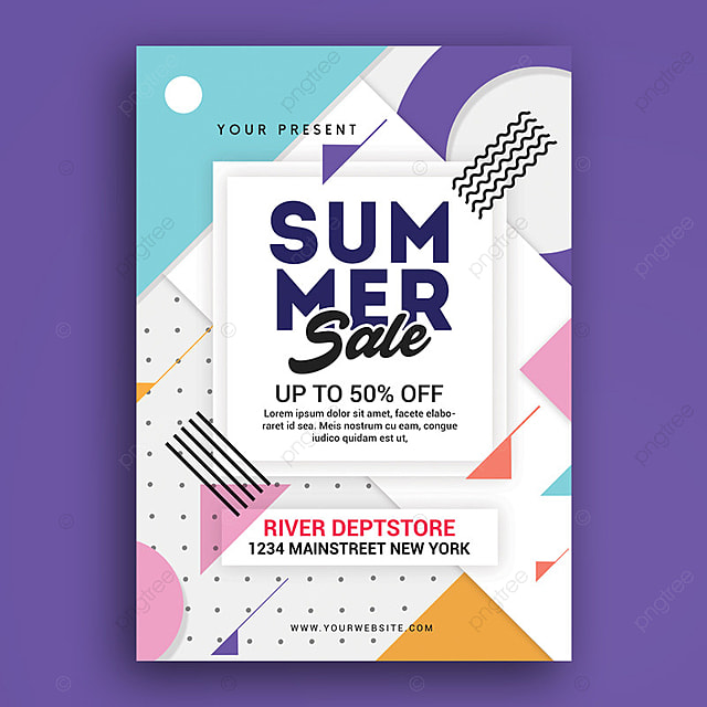 summer sale poster template for free download on pngtree