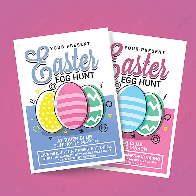 Easter Egg Hunt Poster Template for Free Download on Pngtree