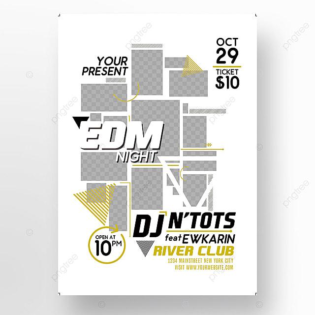 edm party Vorlage zum kostenlosen Download auf Pngtree