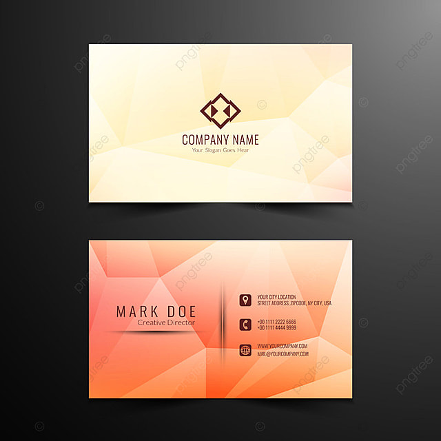 Flat business card template free download business cards 20 free abstract geometric business card design template free download on business cards templates free download colourmoves