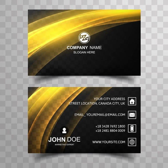 Abstract business card template com brilhantes wave design modelo abstract business card template com brilhantes wave design modelo reheart Images
