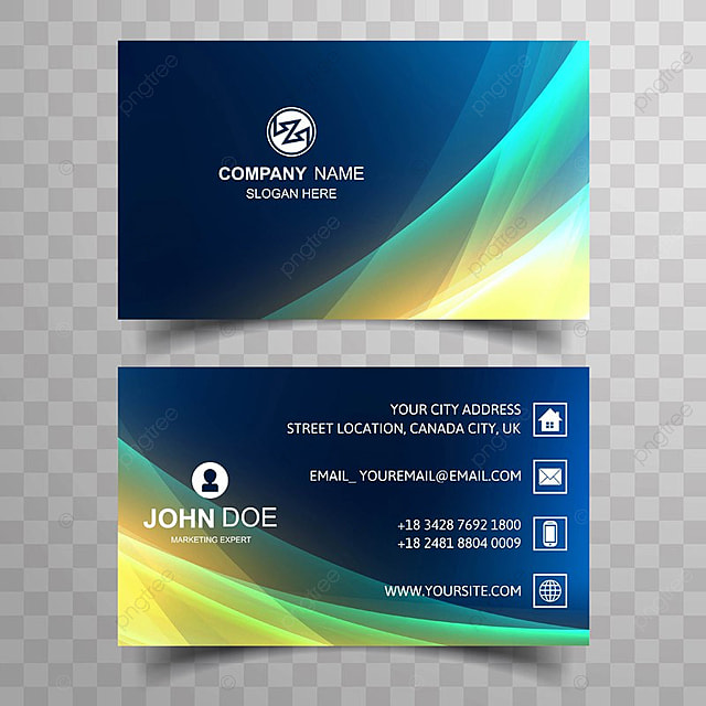 Criativo e clean corporate business card template with wave design criativo e clean corporate business card template with wave design modelo reheart Images
