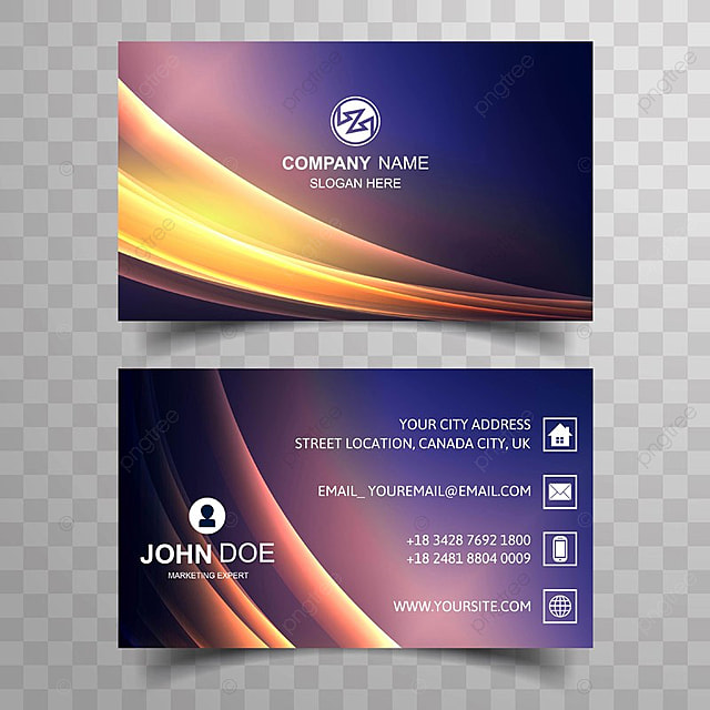 Abstract business card colorful shiny wave background template for abstract business card colorful shiny wave background template reheart Gallery