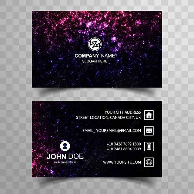 Abstract colorful glitters business card template design template abstract colorful glitters business card template design template accmission Image collections