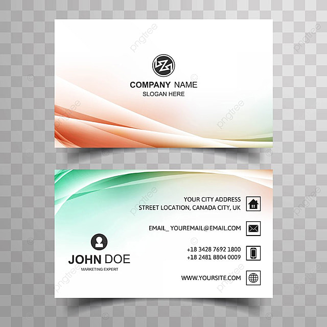 Abstract creative colorful business card design template for free abstract creative colorful business card design template reheart Choice Image