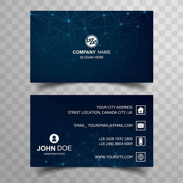 Abstract business card template with polygon design template for abstract business card template with polygon design template reheart Images