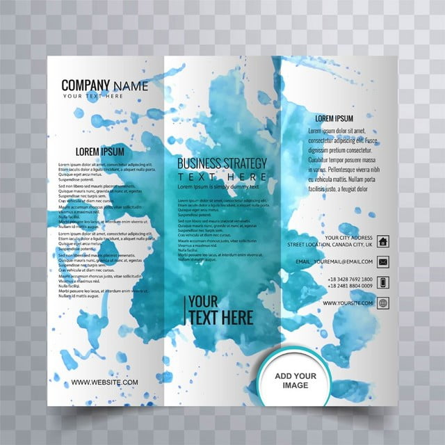 modern trifold brochure design template for free download on pngtree