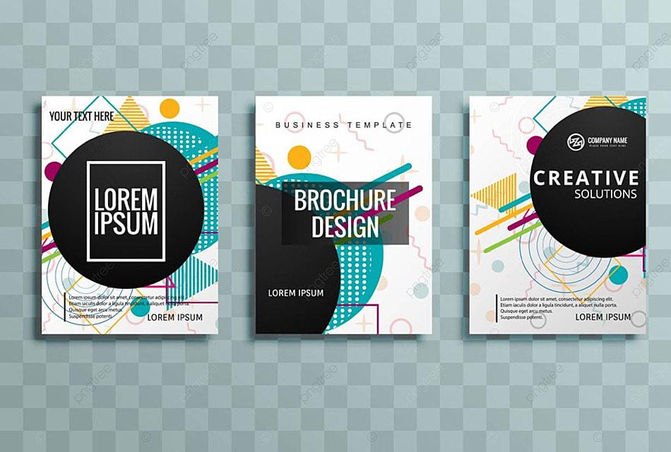1732837f37115 Moderno colorido folleto del negocio conjunto Descarga gratuita de ...