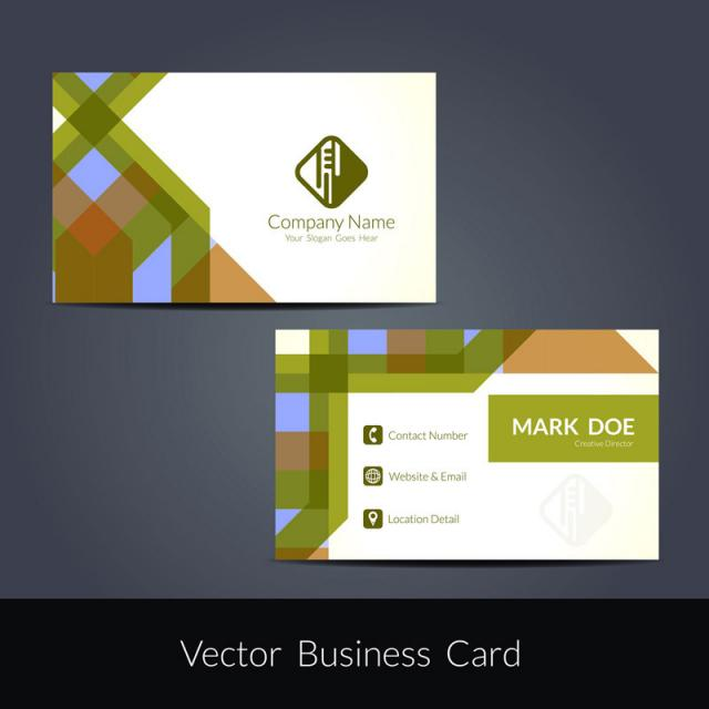 Abstract modern business card design template for free download on abstract modern business card design template cheaphphosting Images