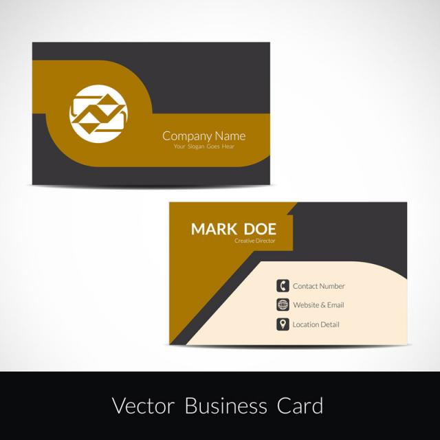 Abstract modern business card design template for free download on abstract modern business card design template flashek Gallery