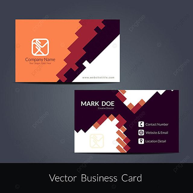abstract modern business card design template - Modern Business Card Design