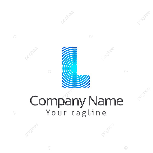 L LETTER LOGO TEMPLATE, Logo, Alphabet, Font PNG and Vector for Free ...