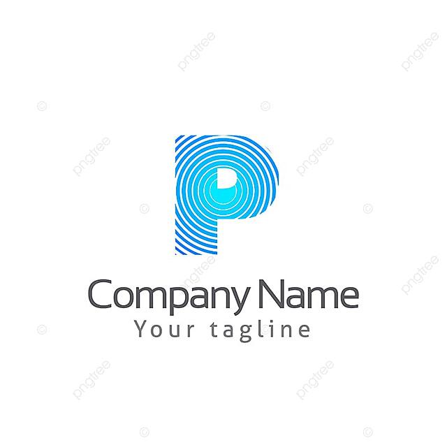 p lettre logo mod u00e8le mod u00e8le de t u00e9l u00e9chargement gratuit sur pngtree
