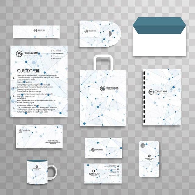 Resumen identidad corporativa papeleria comercial Template Set con ...