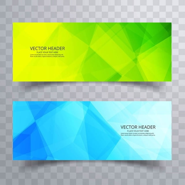 Abstract web banner design background or header templates with abstract web banner design background or header templates with polygon template maxwellsz