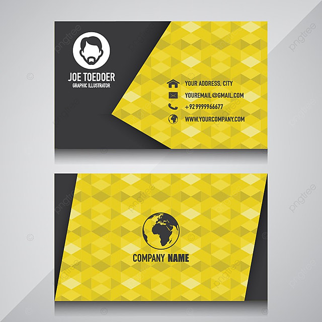 Name Card Design For Your Company Template For Free Download On Pngtree - Name card design template