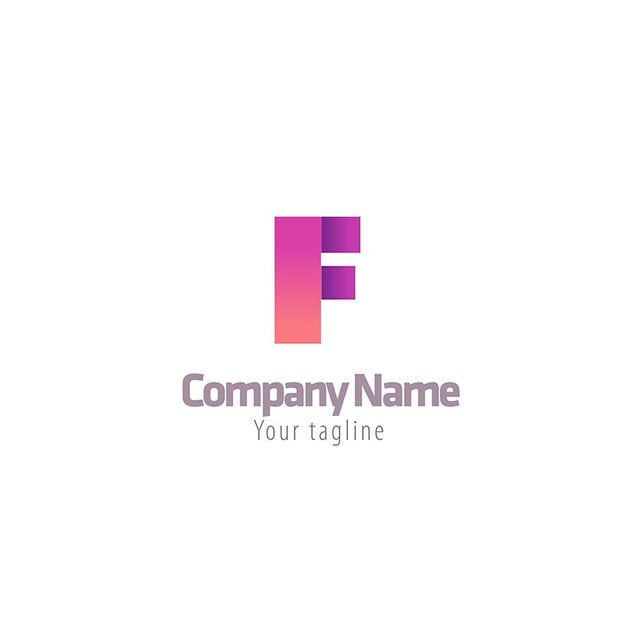 f letter logotype template template