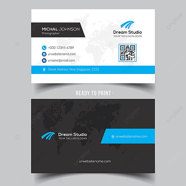 Modern business card template for free download on pngtree modern business card template wajeb Choice Image