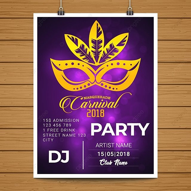 Carnival Posters Template | Carnival Poster Template For Free Download On Pngtree