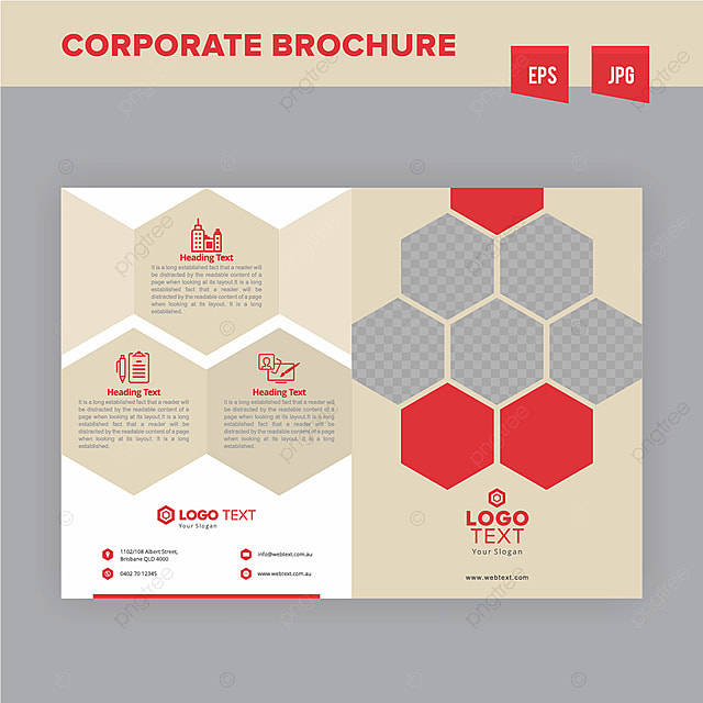 corporate construction company brochure design template template for