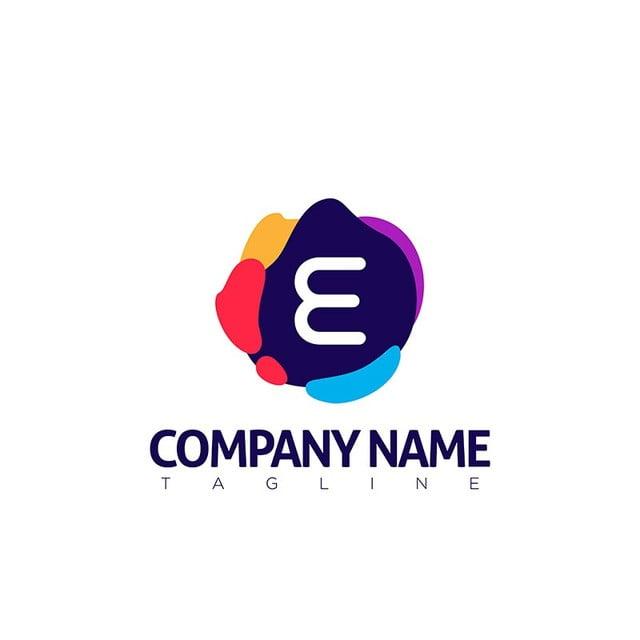 E Brief Logo Template Moderne Vorlage Zum Kostenlosen Download Auf
