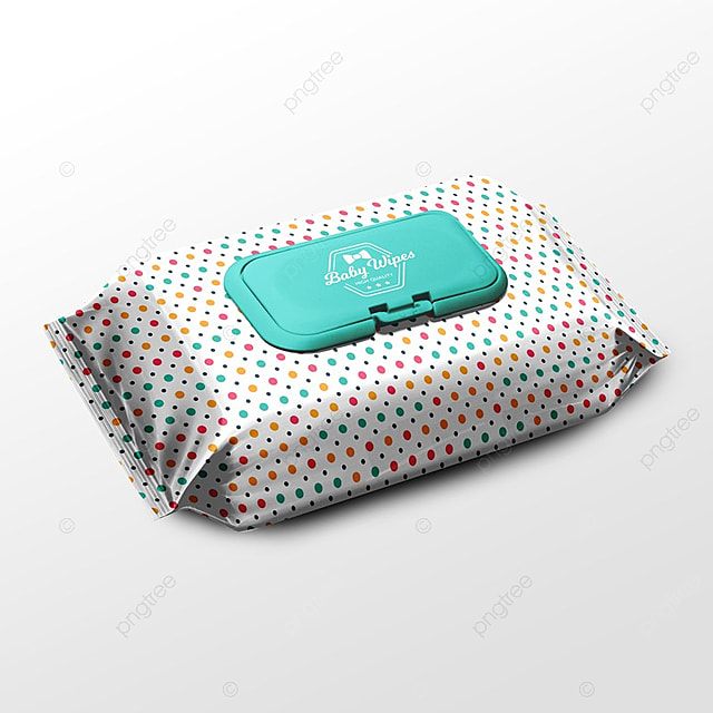 Pack Of Wipes Packaging Psd Mock Up Template For Free Download On