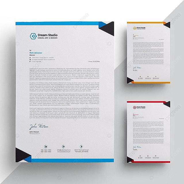 Briefkopf Vorlage Vorlage Zum Kostenlosen Download Auf Pngtree