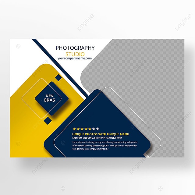 Photography Postcard Template For Free Download On Pngtree - Photography postcard template