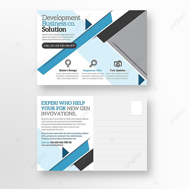 business carte postale mod u00e8le de t u00e9l u00e9chargement gratuit